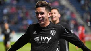 Felipe Gutierrez: 'It was nice' to celebrate first MLS goal in front of traveling Sporting KC fans