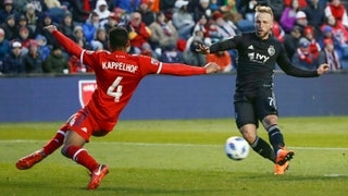 Johnny Russell: 'I think I used the last of my energy' celebrating first MLS goal