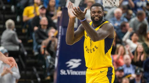 Indiana Pacers decline team option on guard Lance Stephenson