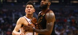 'Babied' Suns can't match James' triple-double in Cavs win