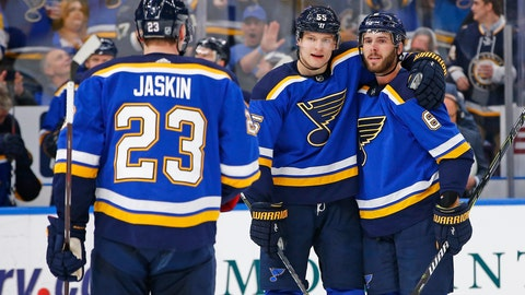 St. Louis Blues (89 points)