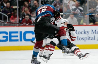 Avalanche ride fast start to physical win over Coyotes