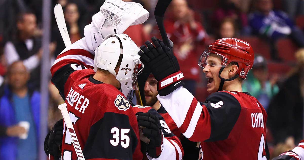 Coyotes get 27 saves from Kuemper, shut out Canucks