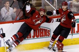 Ekman-Larsson's 2 late goals propel Coyotes past Flames