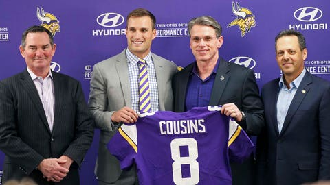 Kirk Cousins will agree to deal with Vikings