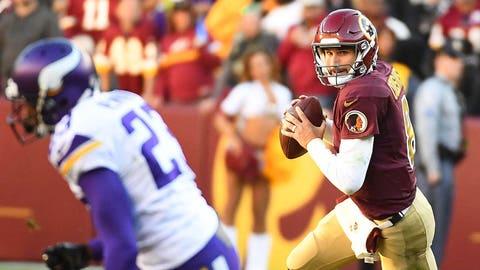 Kirk Cousins, probable Vikings quarterback (↑ UP)