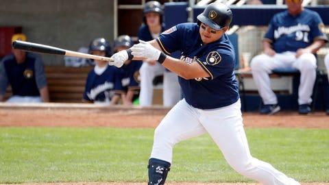 Ji-Man Choi, Brewers first baseman (↑ UP)
