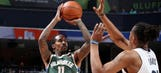 Bucks' Jennings productive in Game 1 of 10-day deal
