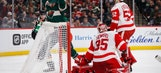Red Wings drop third straight, 4-1 to Wild