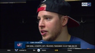 Cam Atkinson: Blue Jackets gaining maturity during stretch run