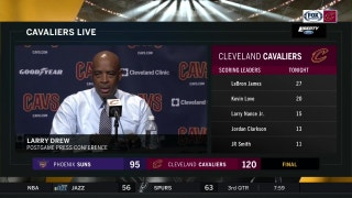 Larry Drew lays out his goals for Cavs' final 10 games