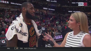 LeBron James explains how he keeps recording triple-doubles