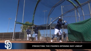 Predicting the Padres' Opening Day lineup