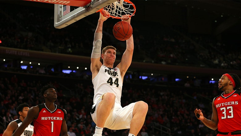 Purdue survives surging Rutgers squad at the Garden