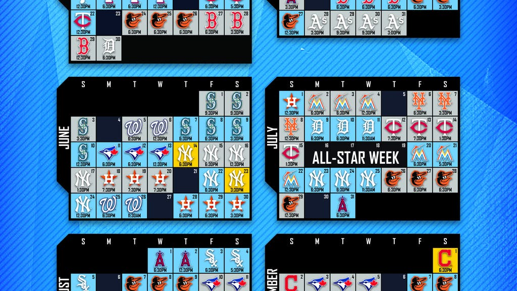 FOX Sports Sun announces Tampa Bay Rays 2018 broadcast schedule