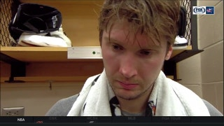 The amount of goals baffled Bobrovsky but he's happy toward a win