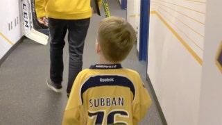 P.K. Subban, Nashville Predators step up for young fan