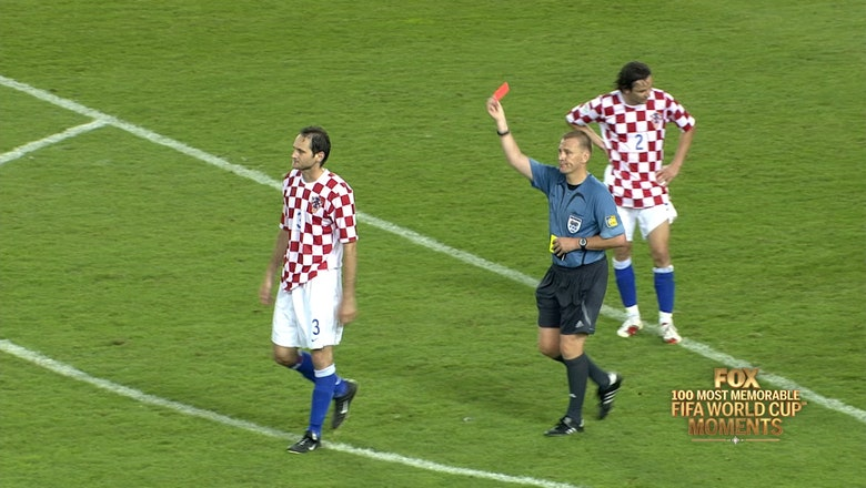 72nd Most Memorable FIFA World Cup Moment: Referee Graham Poll's Three-Card Blunder