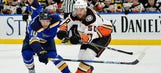 PREVIEW: Ducks face Blues in need of W for playoff hunt (6:30p, Prime Ticket)