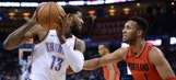 Thunder, Trail Blazers set for important playoff race battle