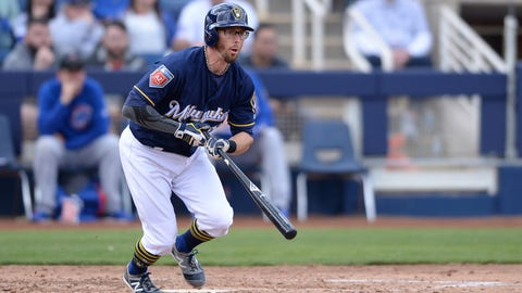 Brewers starter Miley injured in 1st inning