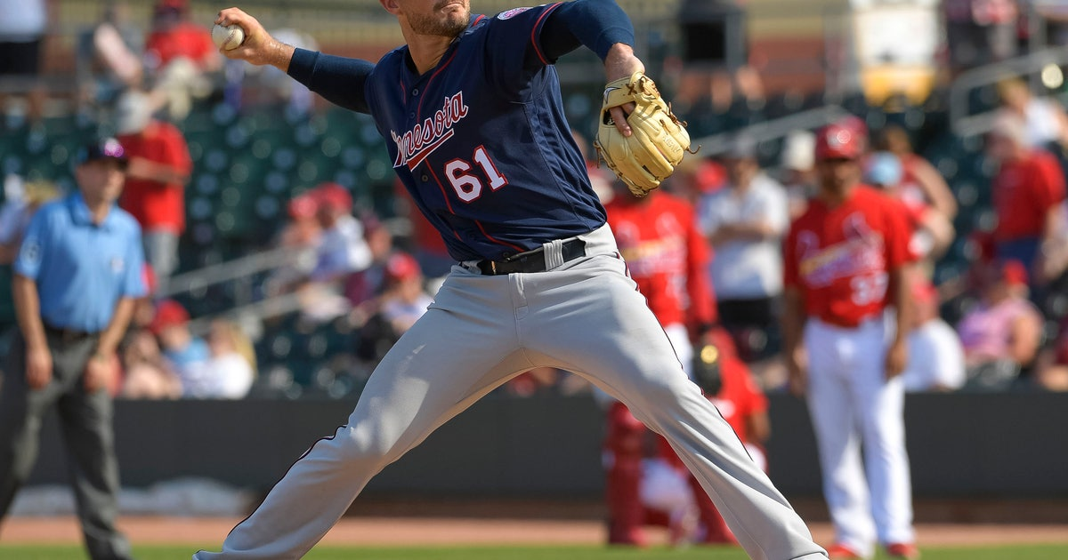 Right-handed reliever Tyler Kinley hoping to land spot in Twins' pen