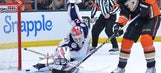 Blue Jackets' road woes continue in 4-2 loss to Ducks