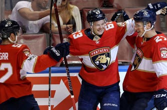 Dadonov leads Panthers to 6th straight win, jump into a playoff spot