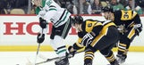 Oleksiak's late goal helps Penguins defeat Stars