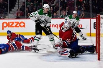 Lehkonen nets 2, Canadiens top Stars 4-2 to snap 5-game skid