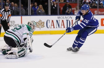 Stars get point, but fall to Maple Leafs in shootout