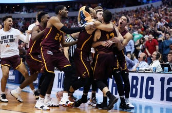 Images of Prayer answered again: Loyola tops Tennessee on late jumper