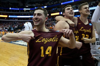 Images of PHOTOS: Living on a prayer...again! Loyola-Chicago stuns #3 Tennessee, heads to Sweet 16