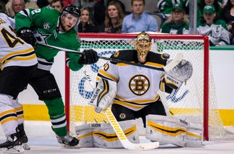 Pastrnak scores with 12 seconds left, Bruins edge Stars 3-2