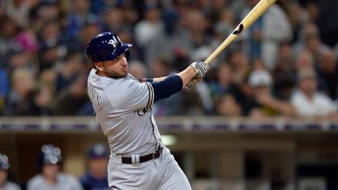Brewers top Padres in 12 innings
