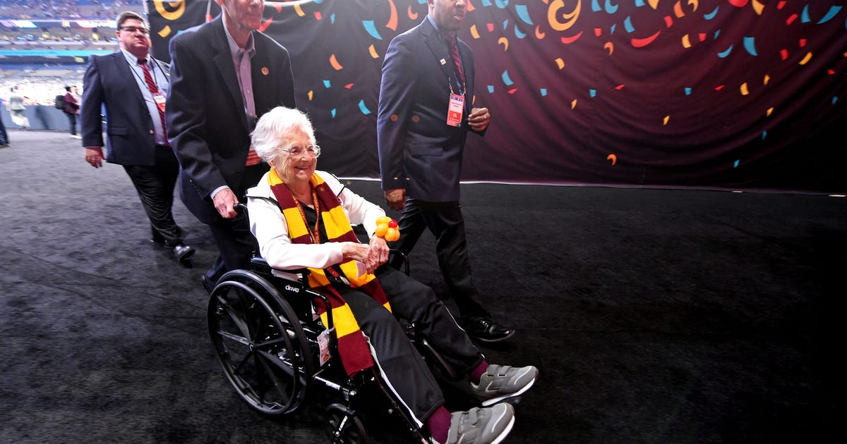 Sister Jean stays faithful when Loyola's Final Four run ends