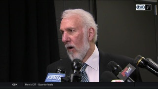 Gregg Popovich: 'Defense won the game for us'