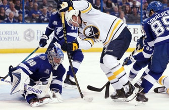 Nikita Kucherov reaches 100 points as Lightning rally past Sabres