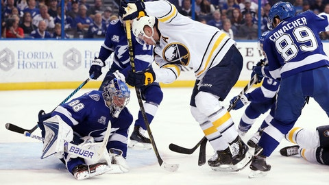 Lightning Defeat Sabres, Inch Closer To Division Title