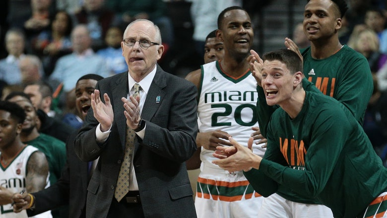 Miami signs coach Jim Larranaga to 2-year extension through 2023-24 season
