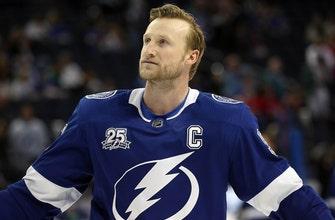 Lightning captain Steven Stamkos hopes to be ready for start of playoffs
