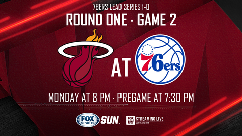 Sixers fall to Heat at home, series even at 1-1