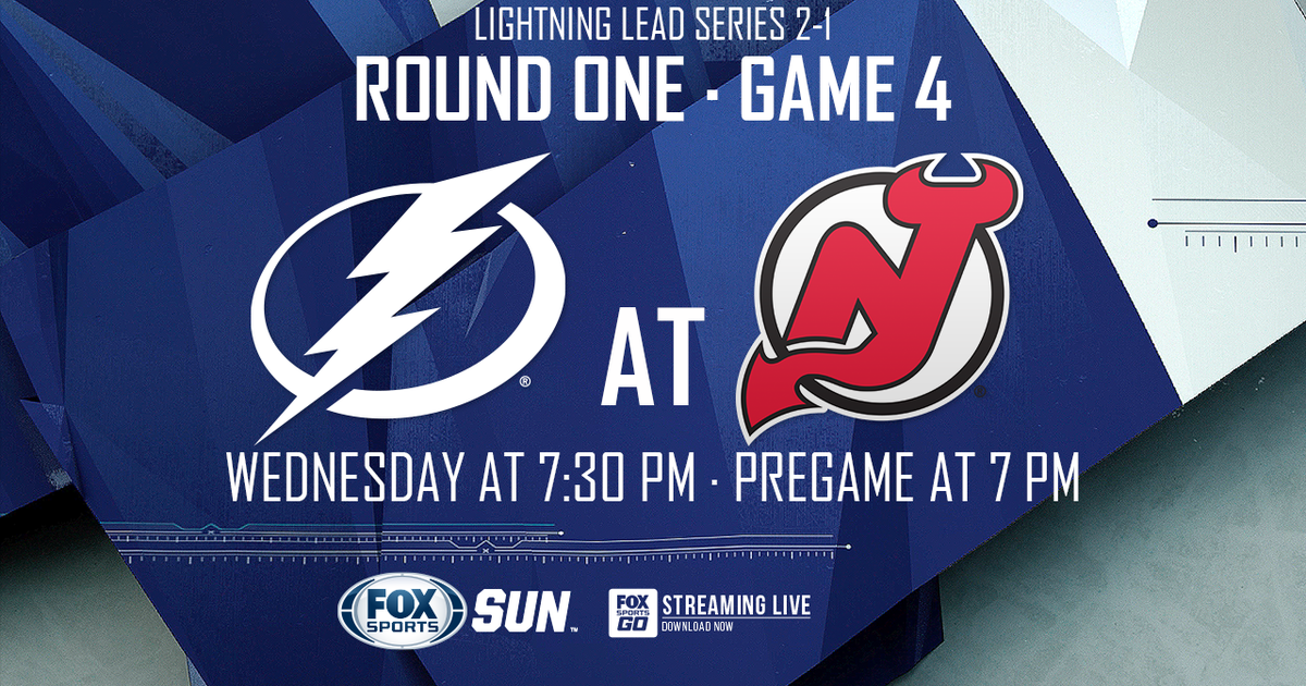 Tampa Bay Lightning At New Jersey Devils Game 4 Preview