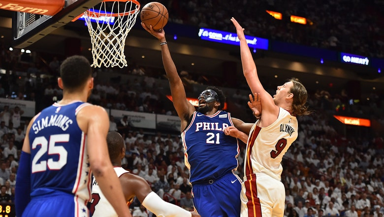 Heat overpowered by 76ers in Joel Embiid's return, go down 2-1 in series