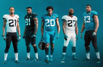 No frills: Jaguars go old school with new uniform look