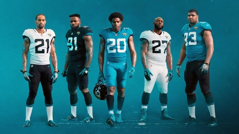 LOOK: New Jacksonville Jaguars Uniforms Unveiled