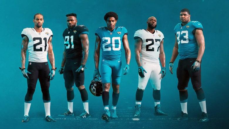 No frills: Jaguars go old school with new uniform look