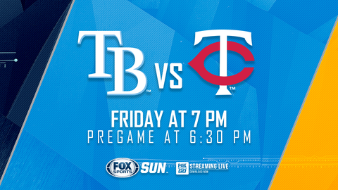 Twins Open Series In Tampa Tonight