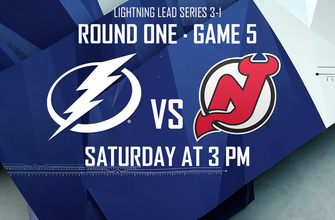 Game 5 preview: Lightning return home looking to eliminate Devils