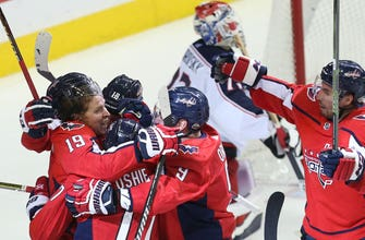 Capitals take 3-2 series lead on Jackets